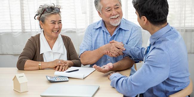 Courtier en prêt immobilier pour senior de plus de 60 ans